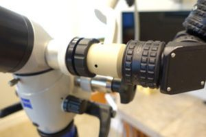 Global On Zeiss Beamsplitter Closeup